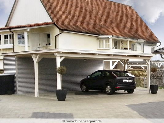 warum ein carport oder eine garage aus holz carports. Black Bedroom Furniture Sets. Home Design Ideas